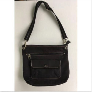 Fossil Marlow Large Top Zip Signature Crossbody